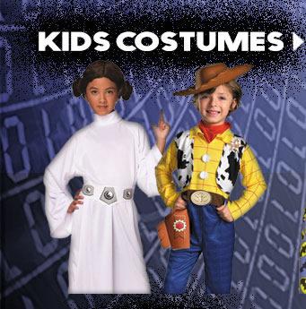 Cyber Monday 2015 Kids Costumes via TrendyHalloween.com