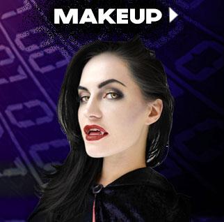 Cyber Monday 2015 Adult Makeup via TrendyHalloween.com