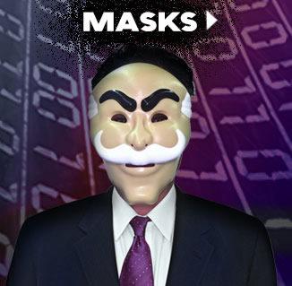 Cyber Monday 2015 Masks via TrendyHalloween.com