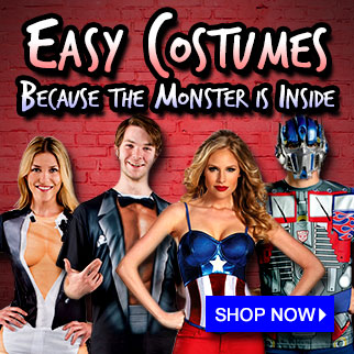 Easy Costumes via TrendyHalloween.com