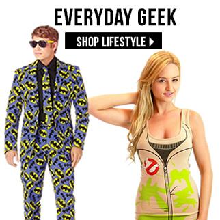 Everyday Geek Wear via TrendyHalloween.com