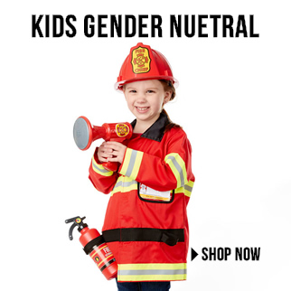 Kids Gender Neutral Costumes via TrendyHalloween.com