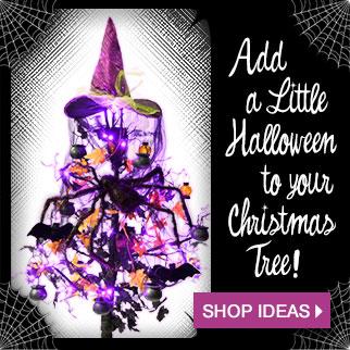 Hallowmas Tree Ideas via Trendyhalloween.com