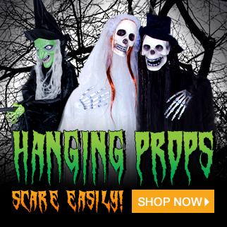 Halloween Hanging Props via TrendyHalloween.com