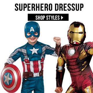 Kids Superhero Dressup 2016 via TrendyHalloween.com