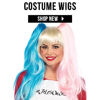 New Costume Wigs via TrendyHalloween.com
