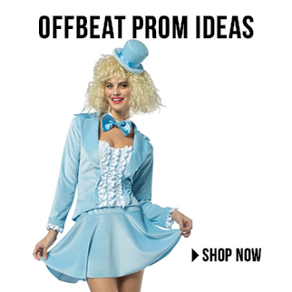Unique Prom Costume Ideas via TrendyHalloween.com