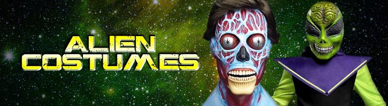 Alien Costumes via Trendy Halloween