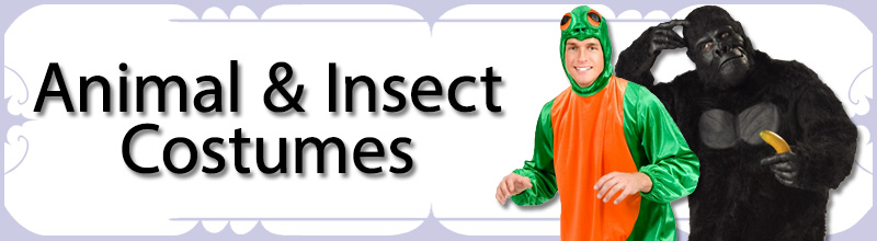 Animal & Insect Mens Costumes