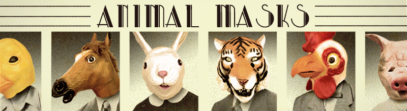 Animal Masks at Trendy Halloween