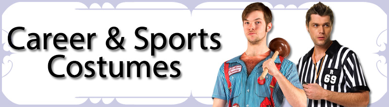 Career and Sports Mens Costumes