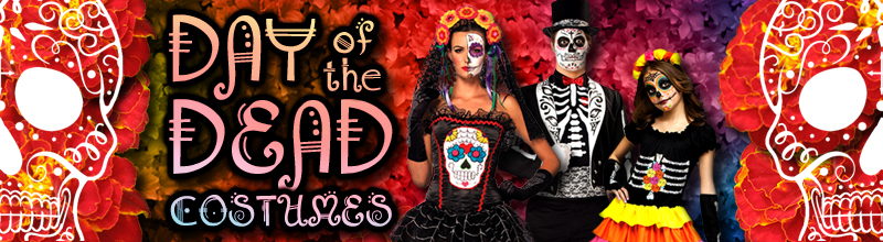 Day of the Dead Costumes Costumes and Accessories