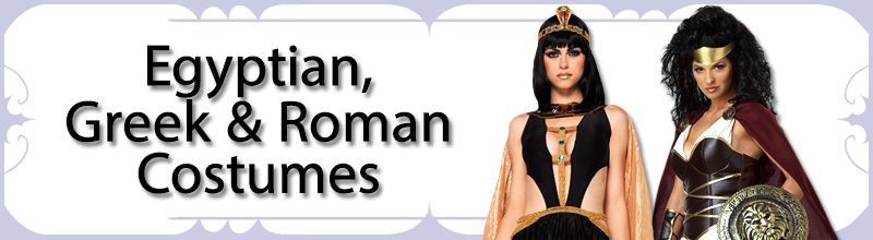 Egyptian, Greek & Roman Womens Costumes