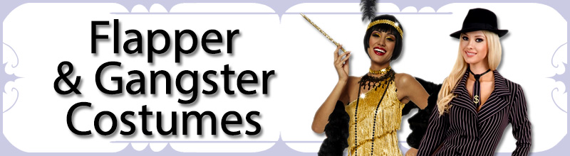 Flapper & Gangster Womens Costumes