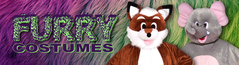 Furry Costumes via Trendy Halloween