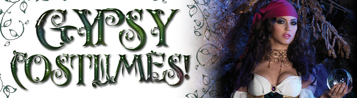 Gypsy Costumes via Trendy Halloween