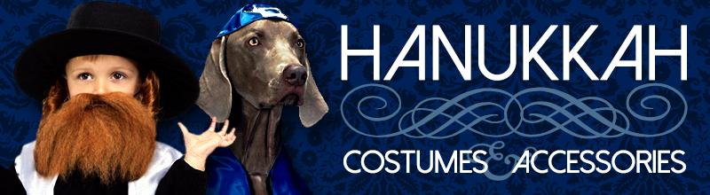 Hanukkah Costumes, Accessories and Party Supplies at Trendy Halloween