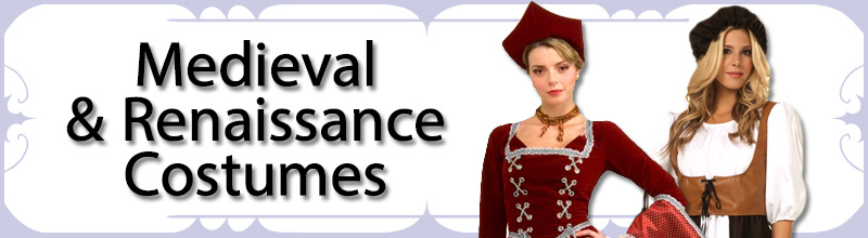 Medieval & Renaissance Womens Costumes