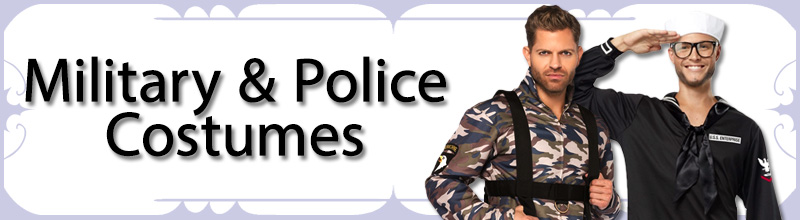 Military & Police Mens Costumes