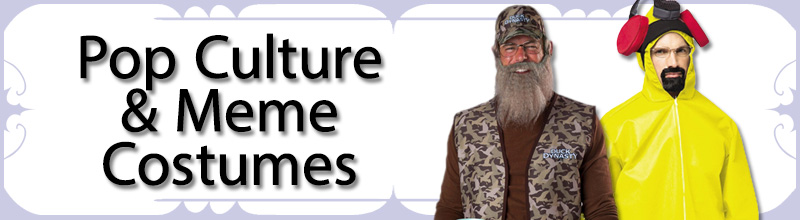 Pop Culture & Meme Mens Costumes