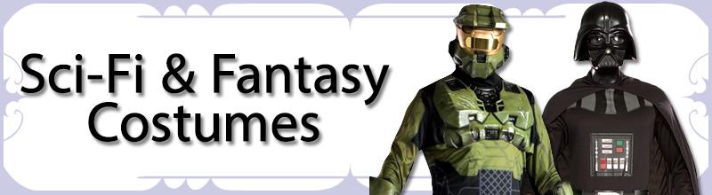 Sci-Fi & Fantasy Mens Costumes