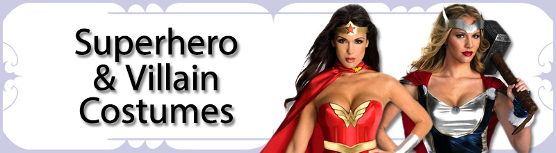 Superhero & Villain Womens Costumes