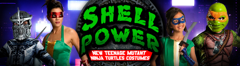Teenage Mutant Ninja Turtles 2014 Costumes and Accessories at Trendy Halloween