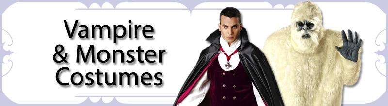 Vampire & Monster Mens Costumes