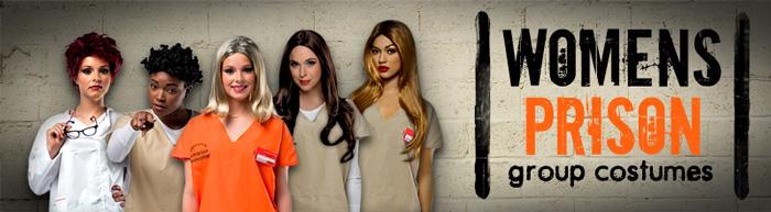 Women S Prison Group Costumes Trendy