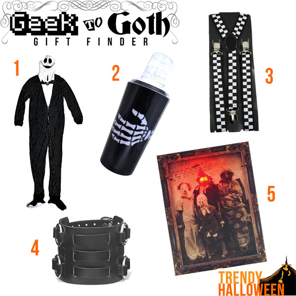 Top 5 Gifts for Goth Boys