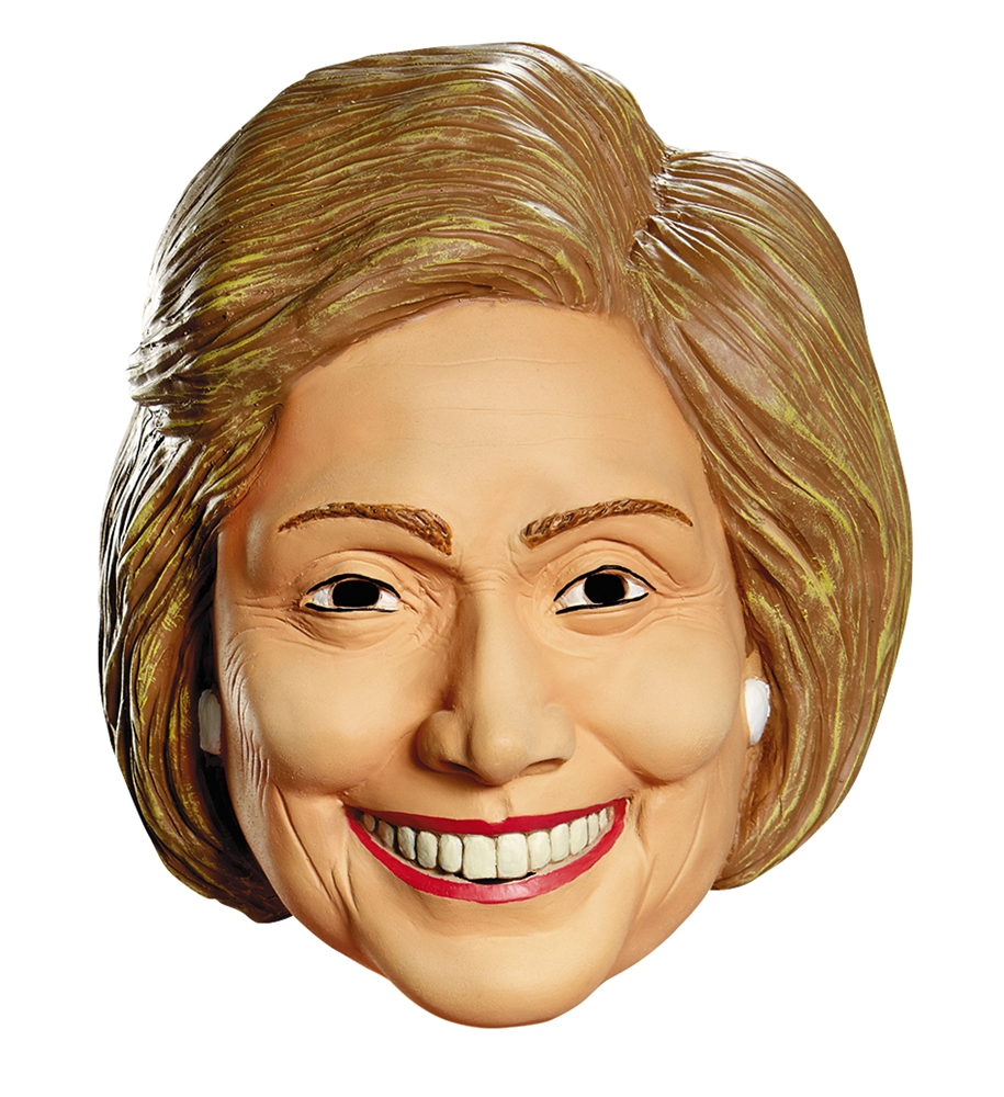 Politically Incorrect Hillary Clinton Mask