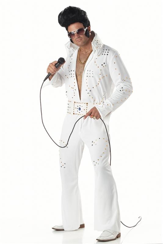 Rock Star Jeweled Elvis Adult Mens Costume