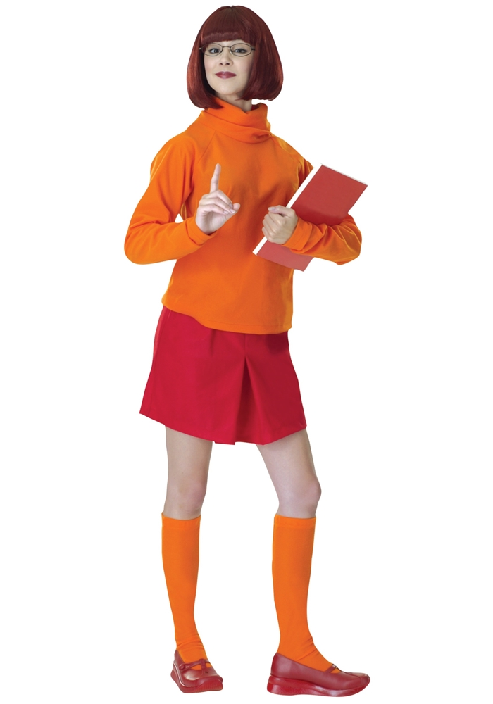 Scooby-Doo Velma Adult Womens Costume