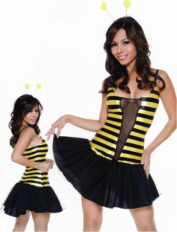 Sexy Stinging Bumble Bee Adult Womens Costume
