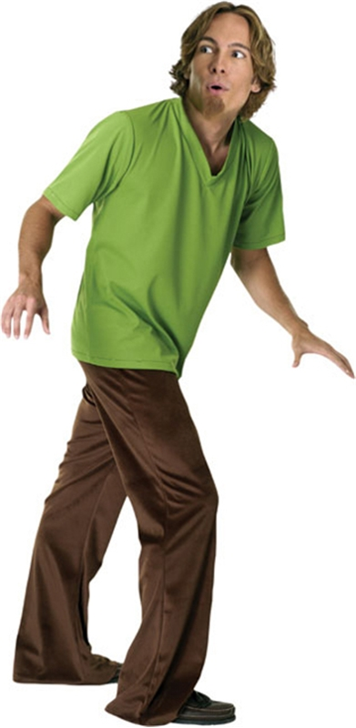 Scooby-Doo Shaggy Adult Mens Costume