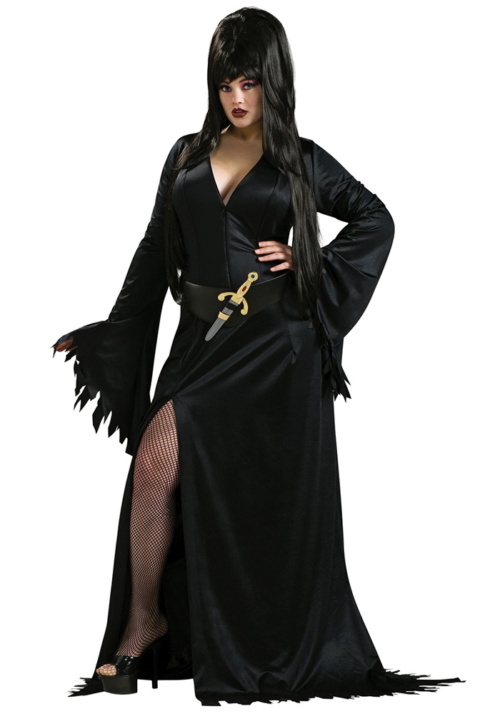 Elvira Plus Size Adult Costume