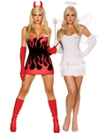 Angel & Devil Costumes via Trendy Halloween