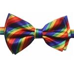 Striped-Rainbow-Bow-Tie