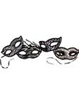Electro-Petite-White-Black-Mask