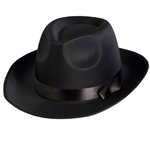 Black-Satin-Fedora-Hat
