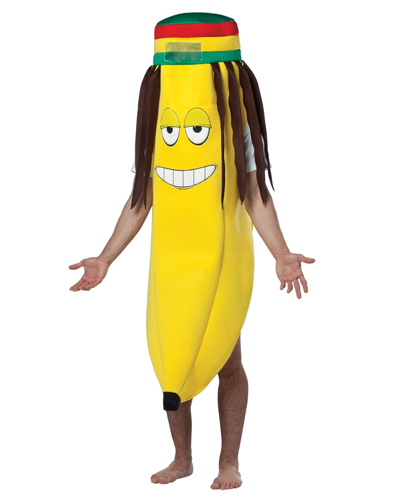 Rasta Banana Adult Unisex Costume