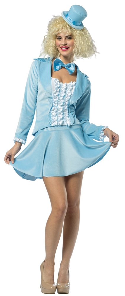 Dumb & Dumber Harry Blue Skirt Suit Adult Womens Costume