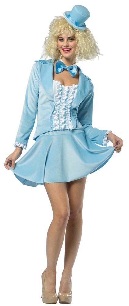 Dumb & Dumber Harry Blue Skirt Suit Adult Womens Costume