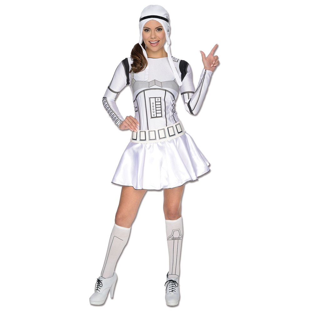 Star Wars Stormtrooper Sexy Adult Womens Costume