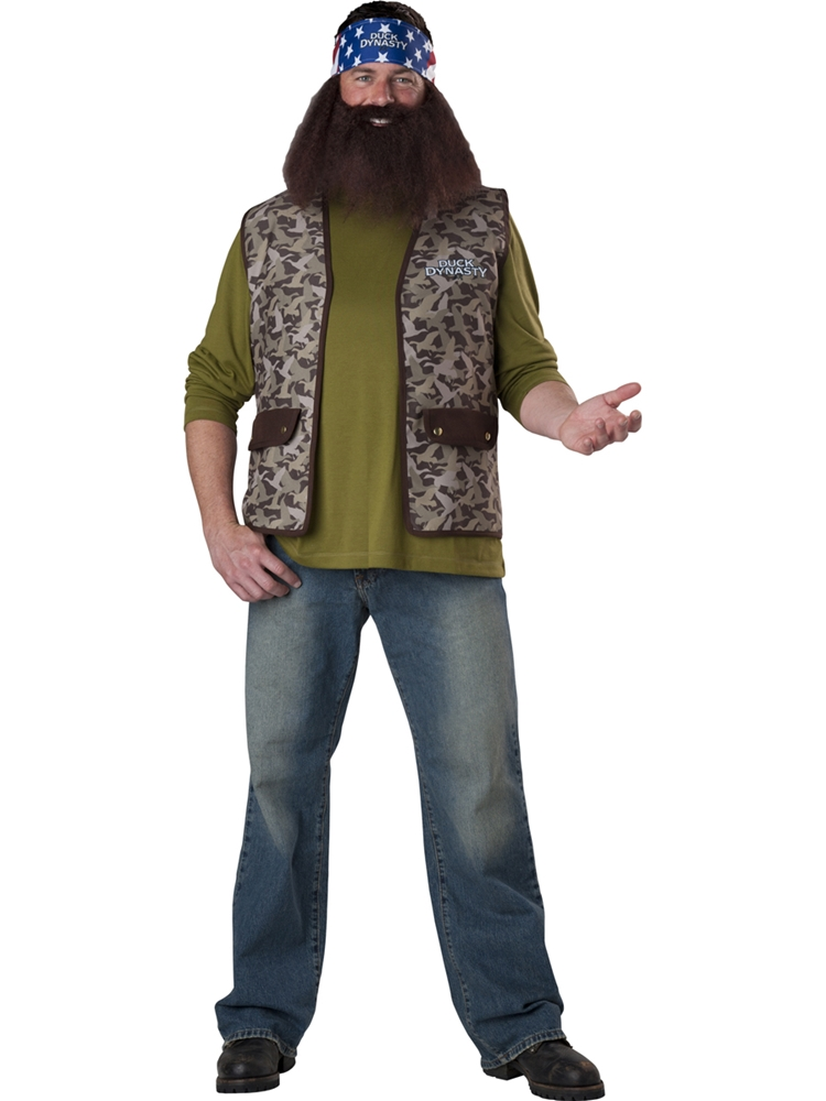 Duck Dynasty Willie Adult Mens Costume