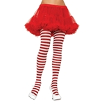 Red-White-Striped-Plus-Size-Tights