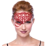 Red-Masquerade-Filligree-Mask