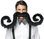 Moustache Party via Trendy Halloween
