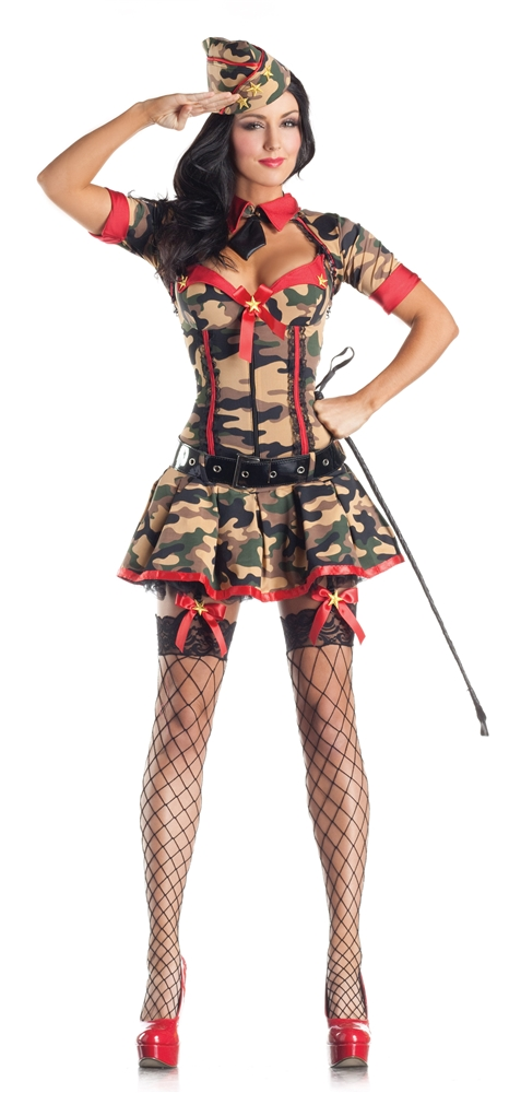 Army Brat Adult Womens Costume