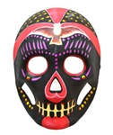 Day-of-the-Dead-Black-Magenta-Mask